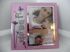 'Special Mam'  Glass Versed Picture Frame ~ Mothers Day ~ Birthday Gift ~ New!