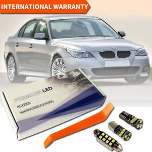BMW 5 Series E60 Full Premium LED Interior SMD Bulbs White Error Free Canbus