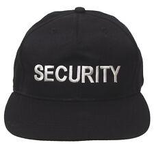 "MFH us cap ""security"" béisbol gorra de béisbol gorro paraguas gorro negro"