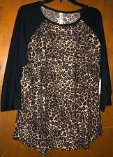Women's Leopard Top Size 2X Nwt