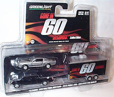 Gone in 60 Seconds Eleanor & Ford F-150 & trailer 1-64 Scale new blister ltd ed