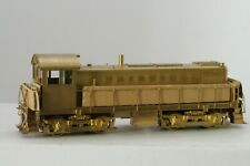 """UNDECORATED """"BRASS"""" MODEL OF A ALCO S-3 LOCOMOTIVE(ALCO BRASS HO*BOXED)"""