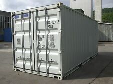 Seecontainer 20ft Mietcontainer Lagercontainer Materialcontainer Container Bau