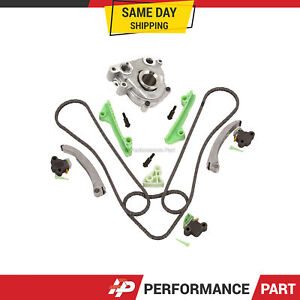 Timing Chain Kit Oil Pump for Cadillac Deville Seville Oldsmobile Pontiac 4.6L
