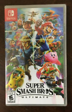 New Sealed Nintendo Switch Super Smash Bros. Ultimate *FAST SHIP