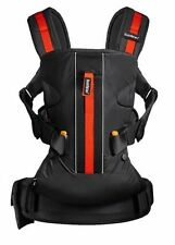 56c75b3723a BabyBjörn Baby Carrier One Outdoors Black 92068