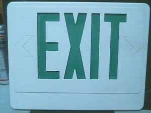 Exit Sign Face Plates, Used??/good Conditions.  You Choose.<~~~~~ L@@K