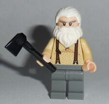 "T.V. #13 Lego The Walking Dead "" Hershel Greene "" NEW Zombie Genuine Lego Parts"