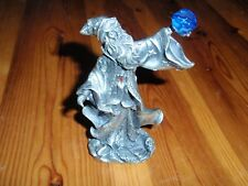 Wizard Sorcerer Merlin Vintage Metal Figure