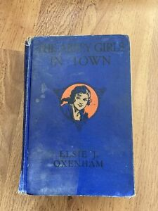 The Abbey Girls in Town Elsie J Oxenham Illustrated by Rosa C Petherick.