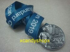 Standard Chartered Hong Kong Marathon 2019 finisher medal for half marathon/10km