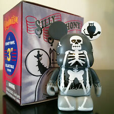 "DISNEY VINYLMATION 3"" SILLY SYMPHONY SERIES 1 SKELETON DANCE CHASER TOY FIGURE"