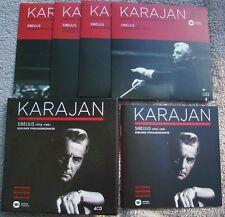 KARAJAN SIBELIUS 1976 - 1981 Symphonies and Tone Poems 4 x CD BOX SET