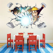 Naruto Japanese Amine Comic 3D Kids Bedroom Wall Stickers Vinyl Decal