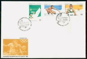 Mayfairstamps Western Sahara FDC 1995 Olympics Combo Basketball First Day Cover