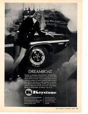 1970 DODGE CHALLENGER  ~  ORIGINAL KEYSTONE WHEEL AD