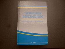 GERIADUR BREZHONEG ROPARZ HEMON DICTIONNAIRE BRETON FRANCAIS