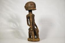 """Tattered Dogon Statue 24"""" - Mali - African Art"""