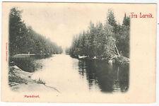 Paradise in Larvik, Norway, 1900s