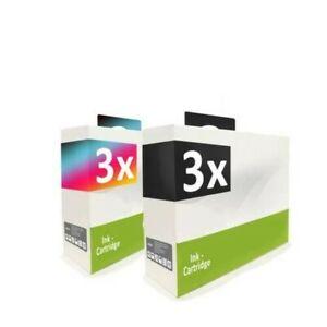 6x Cartridge 3+3 Replaces Kodak 30B 30C NO30B NO30C NO30XL NO30 XL 30XL