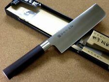 "Japanese Masamune Kitchen Nakiri Vegetable Knife 6.7"" Polypropylene SEKI JAPAN"