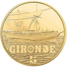 EUR, France, Monnaie de Paris, 50 Euro Or La Gironde 2015 #91495