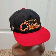 Kansas City Chiefs Vintage 90s NFL Sports Specialties Script Snapback Hat