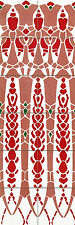 Ceramic Mural Border Backsplash Art Nouveau Tile #503