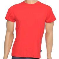 "Jockey Men's ""USA Originals"" American Round, Crew Neck T-Shirt, Red Cotton Tee"