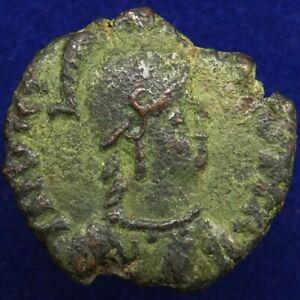 Early Medieval, Byzantine, Ostrogoths, Theodahad (534-536); AE decanummium Rome