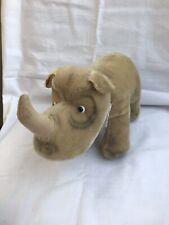 1950s Steiff Rhinoceros Nashorn With Button No Tag