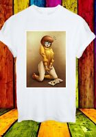 Naughty Velma Dinkley Scooby-Doo Looking Magazine Men Women Unisex T-shirt 771