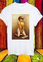 Naughty Velma Dinkley Scooby-Doo Looking Magazine Men Women Unisex T-shirt 771