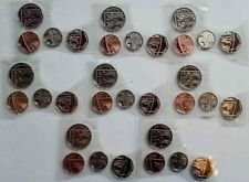 More details for  8 x 2020 bu 1p-5p-10p-20p coins – job lot * sale * bunc coins from annual sets