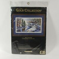 Dimensions Gold All Is Calm Counted Cross Stitch Kit SEALED