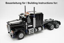 Lego Technic 42078 Mack Anthem C-Modell - US Truck - Bauanleitung