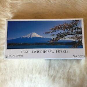 MOUNT FUJI JAPAN Cherrry Blossom Sea Jigsaw Puzzle 500 Piece Japanese Mountain