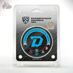 Dinamo Minsk hockey puck 13th season 20-21 Belarus Ice hockey club KHL team
