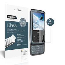 2x echo slideba slide 2,4 pulgadas recubrimiento protector-lámina de vidrio lámina 9h dipos Glass