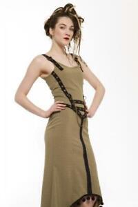 Lady Wales Eye Chain Bodice Top Steampunk Light Green Phaze Clothing Alternative