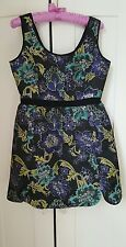 Monsoon  Fusion Floral Pattern Summer  Dress Size 10