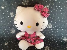 """LARGE TY HELLO KITTY SOFT PLUSH BEANIE TOY 15"""" TALL EXCELLENT CONDITION"""