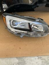 2015 2016 2017 Subaru Wrx Headlight  Right Side