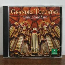GRANDES TOCCATAS Marie Claire Alain - Erato 1994 – 4509-95538-2 –made in Germany