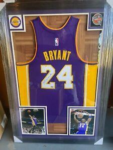 Kobe Bryant autographed signed LA Lakers framed jersey with Steiner Hologram