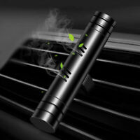 1x Long lasting Black Solid Car SUV Air Freshener Vent Perfume Auto Accessories