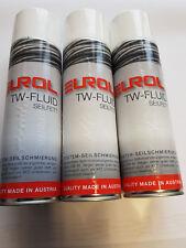 3 Stück 500 ml. Spray Seilfett TW-Fluid Hohlraumschutz Unterbodenschutz