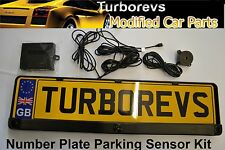 NUMBER PLATE SURROUND REVERSE BUZZER PARKING SENSOR KIT AID