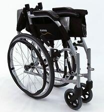 """Karman Ergonomic Wheelchair Ergo Flight Ultra Lt Weight Compact S-2512F 18"""" NEW"""