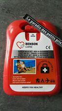 trousse de secours 1er soin 19 pièces,pansements,compresses, sparadrap,bandage